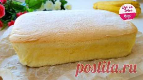 Как приготовить потрясающий японский бисквит | Делимся советами