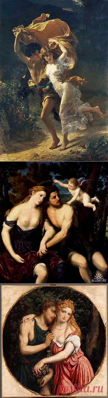 Дафнис и Хлоя. | Искусство