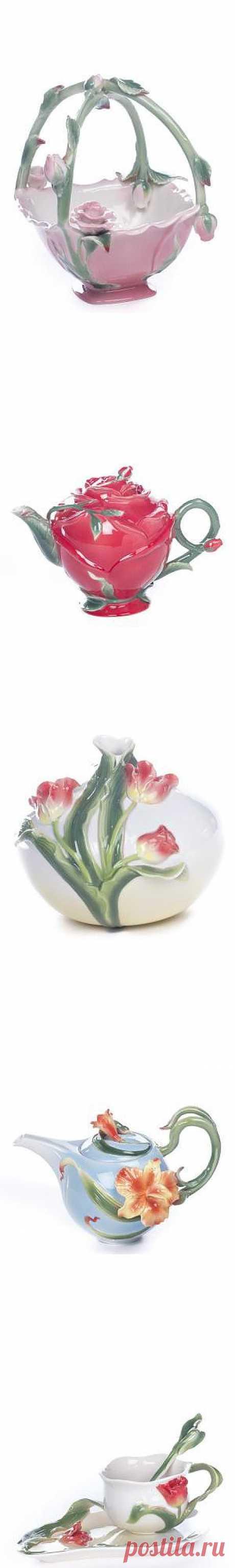 Для всеобщего фурора - декоративные элементы и посуда из фарфора, от 45 грн / Акции