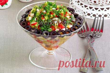 Салат с грибами и крабовыми палочками рецепт с фото, как приготовить грибной салат с крабовыми палочками на Webspoon.ru