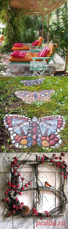 Ландшафтный дизайн: яркие акценты в саду - Дача Своими Руками