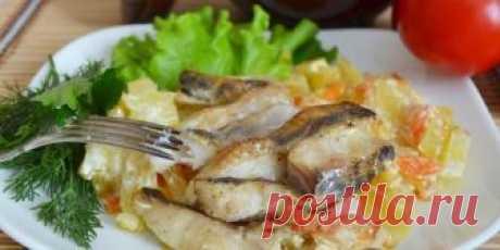 Запеченная скумбрия с картошкой-рецепты вкусного и сытного блюда
