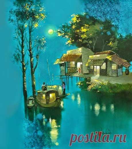 Творчество современного вьетнамского художника Dang Van Can