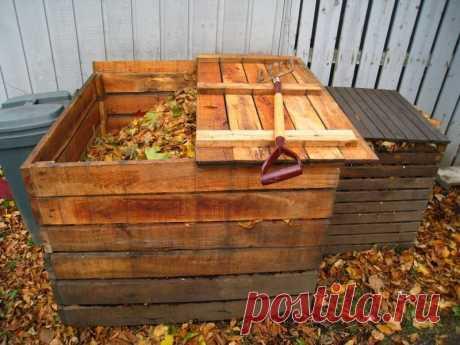 Как правильно устроить компостную кучу? | 6 соток