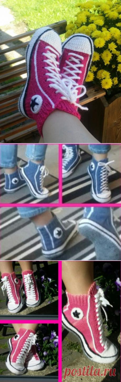 Como vincular los zapatos (Diy) \/ la Labor de punto \/ la SEGUNDA CALLE