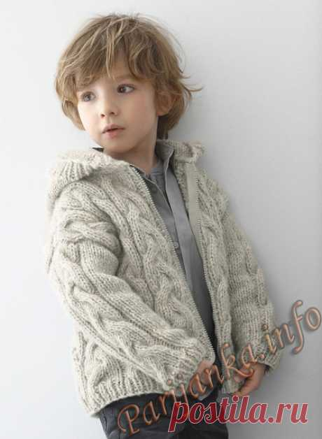 Jacket (d) 08*150 Phildar No. 5030