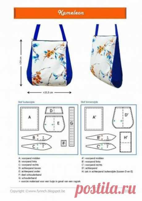Выкройки сумок — HandMade