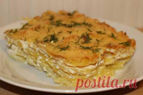 Картофельный гратен — Sloosh – кулинарные рецепты