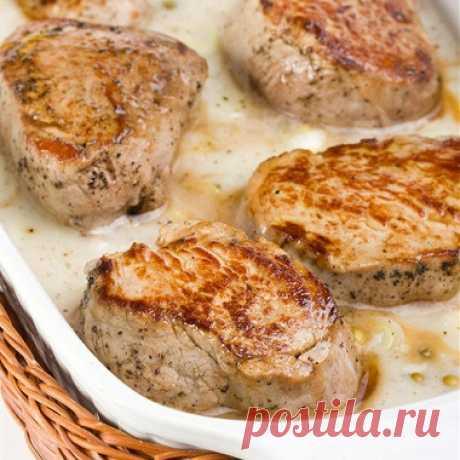 Свиная отбивная с шалфеем и сливками рецепт – французская кухня: основные блюда