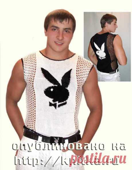 Вязание мужской кофты спицами, Вязание для мужчин
