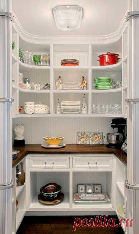 Кладовка в квартире: 95 дизайн-фото маленькой кладовки в квартире и в доме, идеи для кладовки на кухне   Houzz Россия