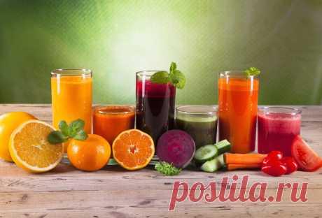 Какой свежевыжатый сок больше всего вредит здоровью