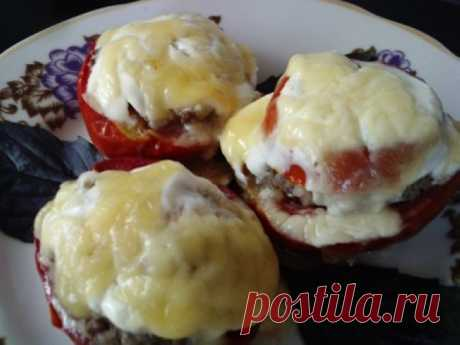 Los tomates rellenados | la cocina Rusa