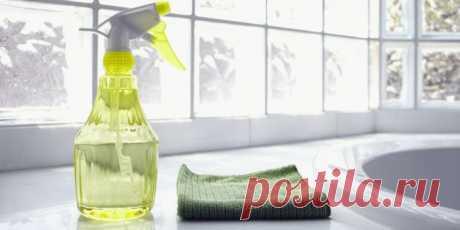 Универсальный очиститель   Сборник наших лучших советов по уборке дома
