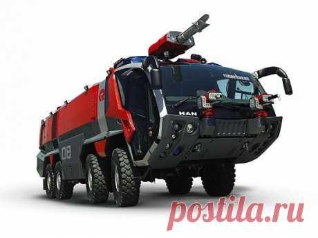 Картинка MAN fire truck / МАН пожарная машина » Грузовики » Автомобили » Картинки 24 - скачать картинки бесплатно