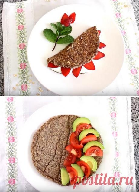 Овсяноблин на завтрак: супер-диетический рецепт