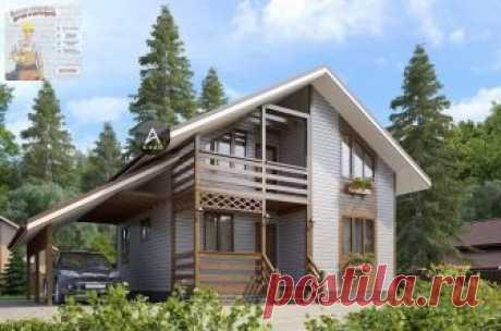 Проект дома S=110м.кв. #дом #проект #проектдома #проектирование #архитектор