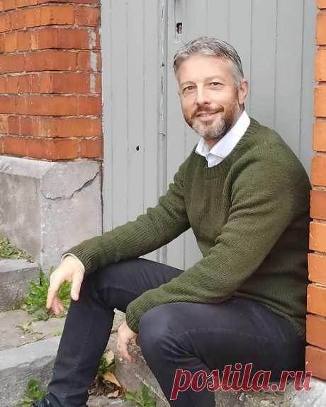 Мужской пуловер Northland - Вяжи.ру