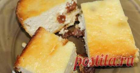 Золотистая творожная запеканка с коньяком! — Вкусные рецепты
