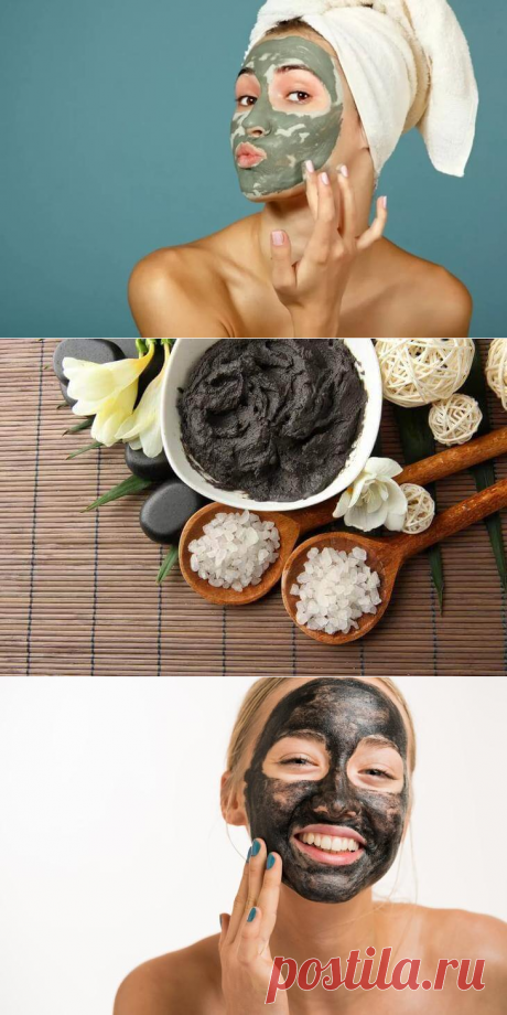 Белая, голубая и черная глина: рецепты косметических масок от прыщей   Чаровница и проказница
