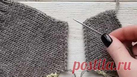 Сшиваем плечевые швы