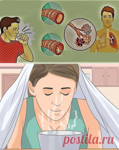 Как избавиться от мокроты и слизи в груди и горле с мгновенным облегчением