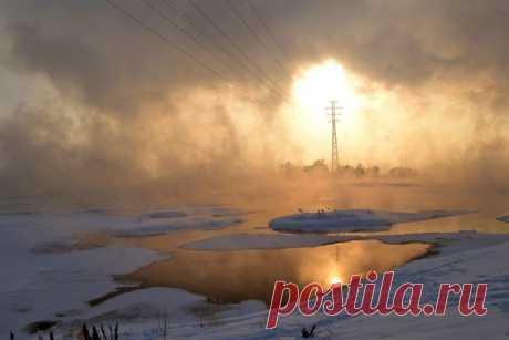 «Источник света». Река Ангара. Автор фото — Владимир Белогорохов: nat-geo.ru/photo/user/164611/