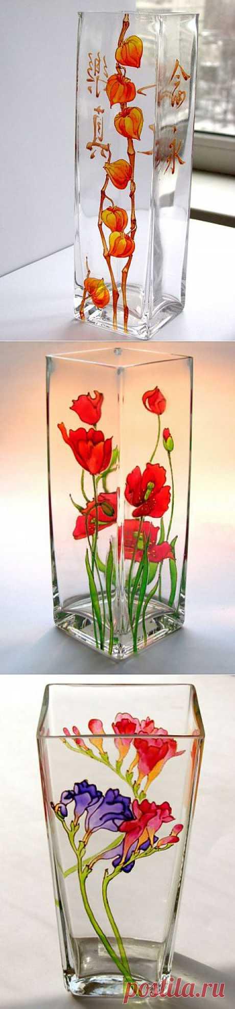 Идеи для росписи ваз.