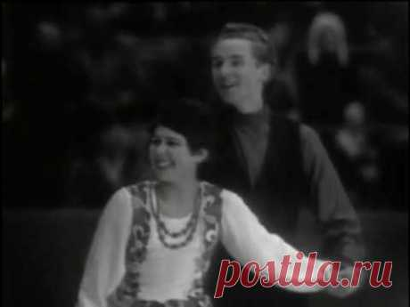 Irina Rodnina & Alexei Ulanov - 1969 European Championships EX