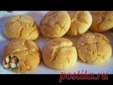 Творожно-рисовые бомбочки! Простое печенье без яиц и без глютена!