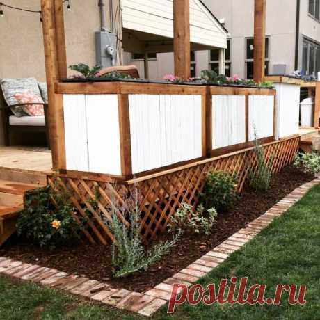 Как добавить очаровательную кирпичную границу в сад - Building Bluebird