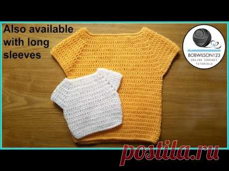 Child Sweater Crochet Tutorial