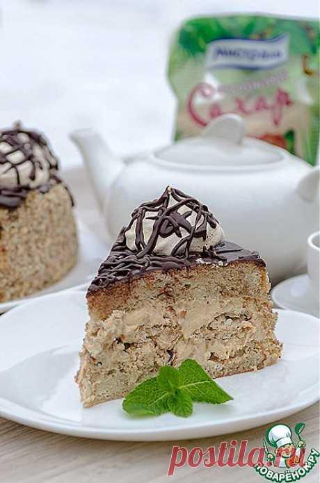 """Бисквитный торт с безе """"Паутинка"""" Автор: Zhenya_tkv"""