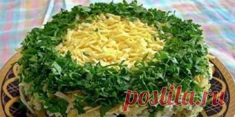 Грибы под шубой. Вкуснейший салат! Очень вкусно и просто!