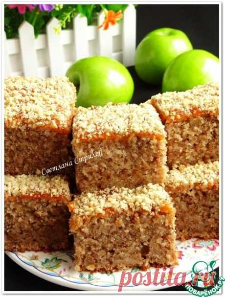 Манник орехово-яблочный – кулинарный рецепт