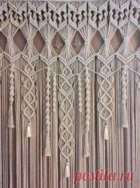 Макраме для начинающих: история и техника макраме, подходящие нитки, основные узлы, схемы плетения и пошаговый мастер-класс