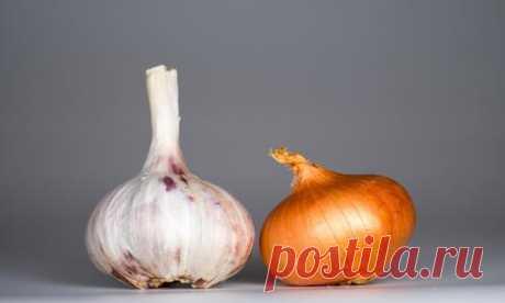 Лук и чеснок от грибка ногтей и кожи: народные рецепты