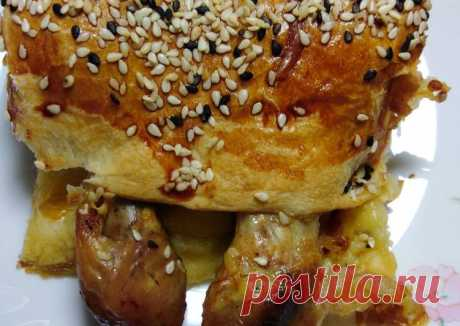 (13) Пирог с куриной голенью - пошаговый рецепт с фото. Автор рецепта Вероника Sherri 🌳 . - Cookpad