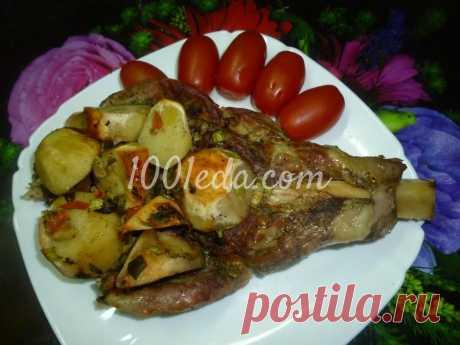 Телятина с овощами в фольге в духовке - Горячие блюда от 1001 ЕДА
