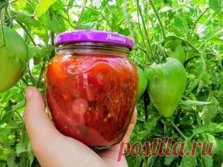 Свекровь поделилась рецептом вкуснейшего соуса / Кавказский соус на зиму