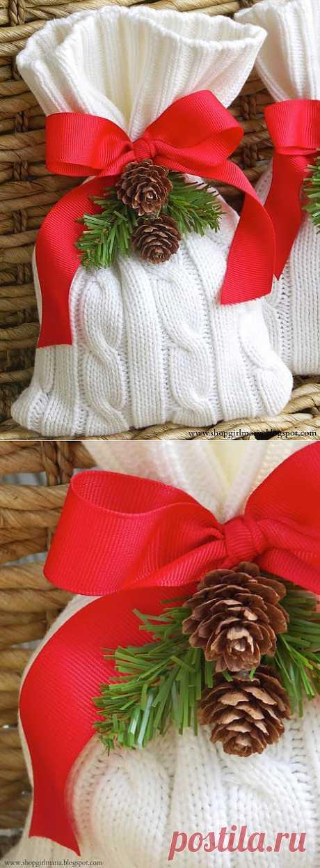 Рецепты Trico & Крош: сумка для подарков вязания
