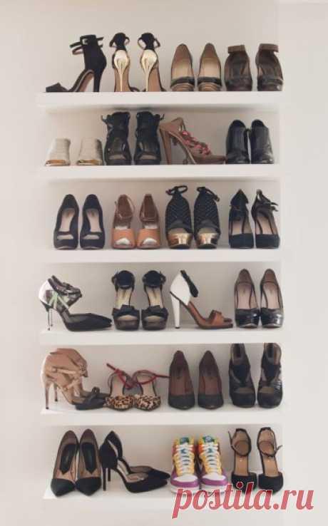 9 idées canons pour ranger vos précieuses chaussures – Astuces de filles