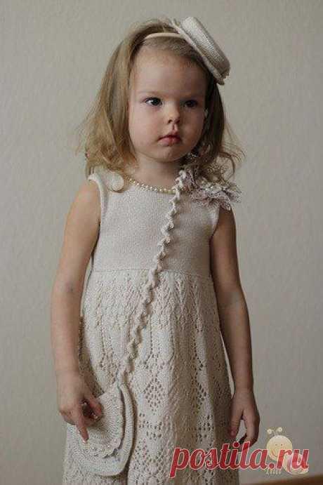 Платье для девочки по мотивам платьев Жаннетты Мирмизетты