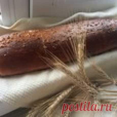 Пшенично-кукурузный батон Кулинарный рецепт