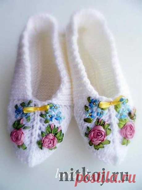 Вязаная обувь, носки » Страница 4 » Ниткой - вязаные вещи для вашего дома, вязание крючком, вязание спицами, схемы вязания