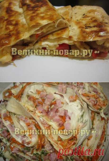 Закуски - Блог   Великий повар