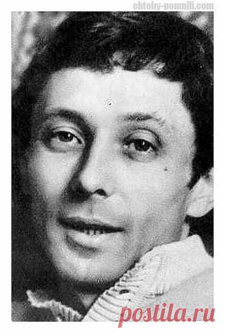 Советский актер театра и кино Олег Даль
