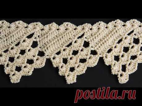 Crochet : Borde # 16
