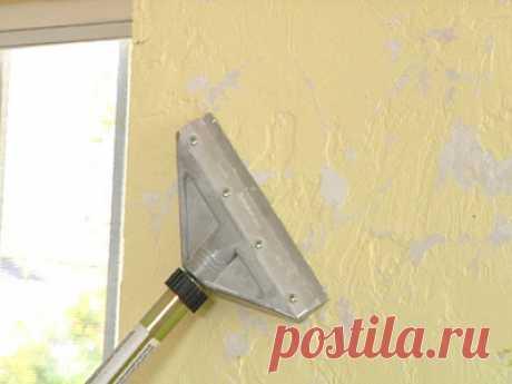 Удаление декоративной штукатурки — Домашний уют
