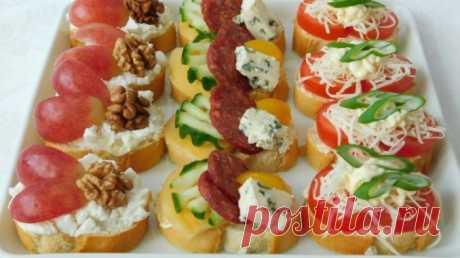 Праздничные бутерброды и закуски: 40 идей сервировки праздничного стола Красивые и вкусные бутерброды на праздничный стол.